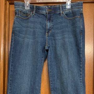 Levi's 525 Perfect Waist Crop Jeans Size 14